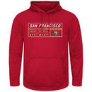 San Francisco 49ers Majestic Startling Success Pullover Hoodie - Scarlet