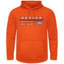 Denver Broncos Majestic Startling Success Pullover Hoodie - Orange