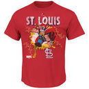 St. Louis Cardinals Majestic Marvel Thor T-Shirt - Red