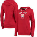New York Red Bulls adidas Women's Arched Gel Hoodie - Red