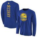 Stephen Curry Golden State Warriors Backer Long Sleeve T-Shirt - Royal