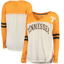 Tennessee Volunteers G-III 4Her by Carl Banks Women's Field Position V-Neck Long Sleeve Top - White
