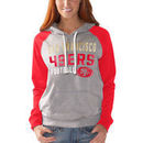San Francisco 49ers G-III 4Her by Carl Banks Women's West Coast Pullover Hoodie - Heathered Gray