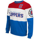 LA Clippers G-III Extreme Supreme Pullover Sweatshirt - Royal/Red