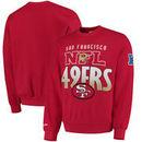 San Francisco 49ers Mitchell & Ness Toss Up Sweatshirt - Scarlet