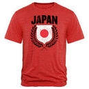 Japan Fanatics Branded Spirit Tri-Blend T-Shirt - Red