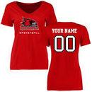 S.E. Missouri State Redhawks Women's Personalized Basketball T-Shirt - Red