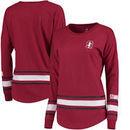Stanford Cardinal Colosseum Women's All Around Oversized Long Sleeve T-Shirt - Cardinal