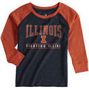 Illinois Fighting Illini Colosseum Toddler Kryton Raglan Long Sleeve T-Shirt - Navy