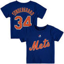 Noah Syndergaard New York Mets Majestic Male Preschool Player Name and Number T-Shirt - Royal
