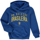 Brazil National Team Youth Arch Hoodie - Royal