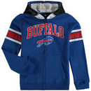 Buffalo Bills Youth Fan Gear Helmet Full-Zip Hoodie - Royal