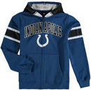 Indianapolis Colts Youth Fan Gear Helmet Full-Zip Hoodie - Royal