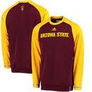 Arizona State Sun Devils adidas Sideline Player climawarm Sweatshirt - Maroon