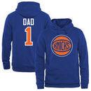New York Knicks #1 Dad Pullover Hoodie - Royal