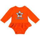 Oregon State Beavers Colosseum Girls Newborn & Infant Day Dreamer Long Sleeve Bodysuit - Orange