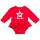 Wisconsin Badgers Colosseum Girls Newborn & Infant Day Dreamer Long Sleeve Bodysuit - Red