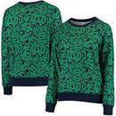 Notre Dame Fighting Irish ZooZatz Women's Stacked Mascot Sweatshirt - Green