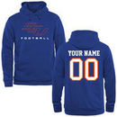 Savannah State Tigers Personalized Football Pullover Hoodie - Royal