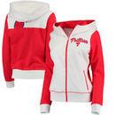 Philadelphia Phillies G-III 4Her by Carl Banks Women's Franchise Full-Zip Hoodie - White