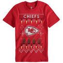 Kansas City Chiefs Youth Light the Tree T-Shirt - Red