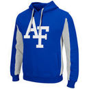 Air Force Falcons Colosseum Thriller II Pullover Hoodie - Royal/White