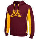 Minnesota Golden Gophers Colosseum Thriller II Pullover Hoodie - Maroon/Gold