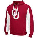 Oklahoma Sooners Colosseum Thriller II Pullover Hoodie - Crimson/White
