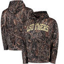 LSU Tigers All Over Print Pullover Hoodie - Camo