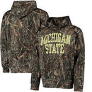 Michigan State Spartans All Over Print Pullover Hoodie - Camo