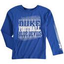 Duke Blue Devils Preschool Ovation Long Sleeve T-Shirt - Royal