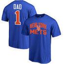 New York Mets #1 Dad T-Shirt - Royal