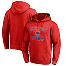 Chicago Cubs Victory Arch Pullover Hoodie - Red