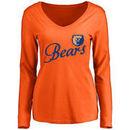Morgan State Bears Women's Dora Long Sleeve T-Shirt - Orange