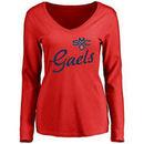 Saint Mary's Gaels Women's Dora Long Sleeve T-Shirt - Red
