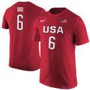 Sue Bird Women's USA Basketball Nike Women's Name & Number T-Shirt - Red