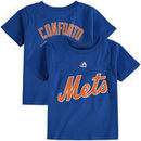 Michael Conforto New York Mets Majestic Infant Player Name and Number T-Shirt - Royal