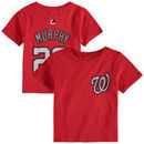 Daniel Murphy Washington Nationals Majestic Infant Player Name and Number T-Shirt - Red