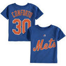 Michael Conforto New York Mets Majestic Toddler Player Name and Number T-Shirt - Royal