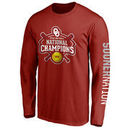 Oklahoma Sooners 2016 NCAA Women's Softball College World Series Champions Official Logo Long Sleeve T-Shirt - Crimson