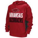 Arkansas Razorbacks Colosseum Youth Sonic Pullover Hoodie - Cardinal