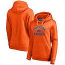 New York Knicks Women's Overtime Pullover Hoodie - Orange