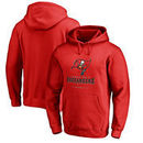 Tampa Bay Buccaneers NFL Pro Line by Fanatics Branded Team Lockup Pullover Hoodie - Red