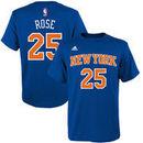 Derrick Rose New York Knicks adidas Youth Name & Number T-Shirt - Royal