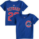Jason Heyward Chicago Cubs Majestic Toddler Player Name and Number T-Shirt - Royal