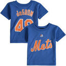 Jacob deGrom New York Mets Majestic Infant Player Name and Number T-Shirt - Royal