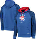 Chicago Cubs Majestic Armor II Tonal Therma Base Pullover Hoodie - Royal