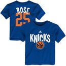 Derrick Rose New York Knicks adidas Infant Name & Number T-Shirt - Royal