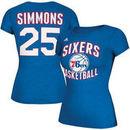 Ben Simmons Philadelphia 76ers adidas Women's Name & Number T-Shirt - Royal