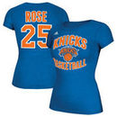 Derrick Rose New York Knicks adidas Name & Number T-Shirt - Royal
